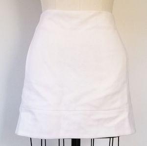 J. Crew Off White Wool Skirt Size 0
